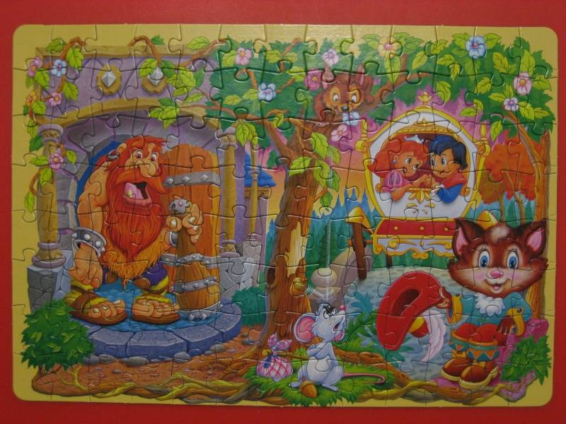 Иллюстрация 1 из 4 для Step Puzzle-104 82014 Кот в сапогах | Лабиринт - игрушки. Источник: малышка Мю