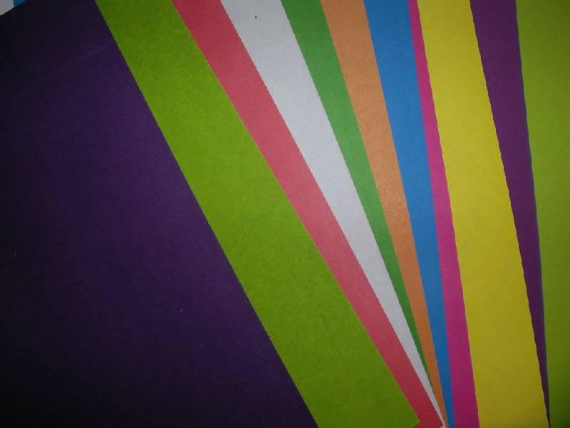 Иллюстрация 1 из 3 для Цветная бумага 10 цветов. 20 листов А4 (МБЦ4 20/10) | Лабиринт - канцтовы. Источник: Tiger.