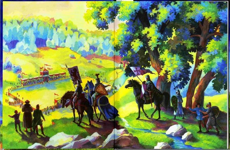 Иллюстрация 1 из 11 для Айвенго - Вальтер Скотт   Лабиринт - книги. Источник: Kvaki