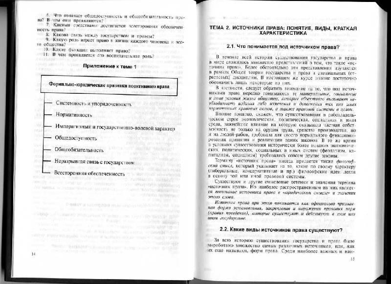 Иллюстрация 1 из 3 для Основы права - Марченко, Дерябина | Лабиринт - книги. Источник: Варвара