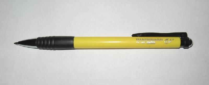 Иллюстрация 1 из 2 для Ручка автоматическая синяя Tianjiao (TY-160) | Лабиринт - канцтовы. Источник: ixora