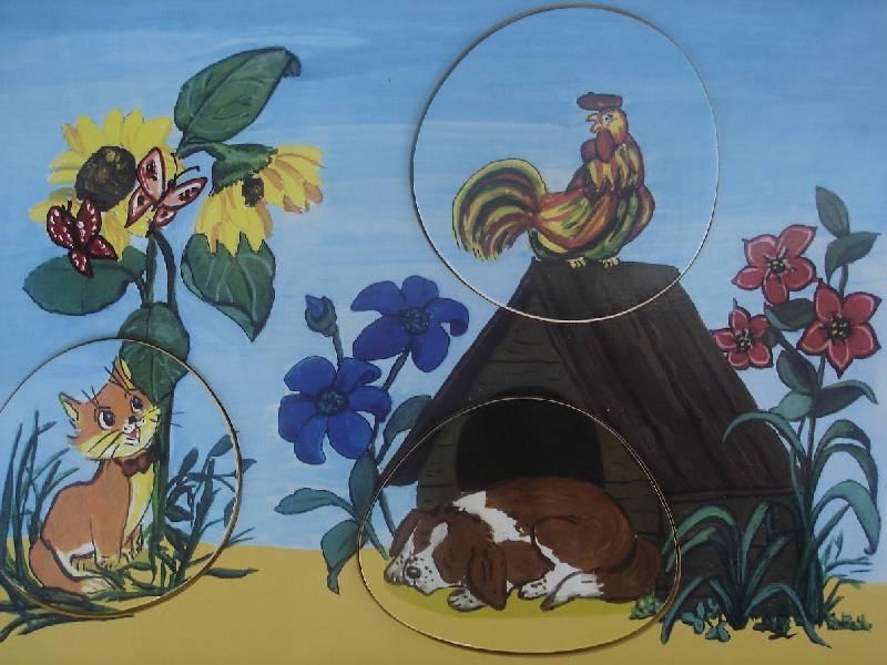 Иллюстрация 1 из 2 для Двор (домашние животные)   Лабиринт - игрушки. Источник: Nett