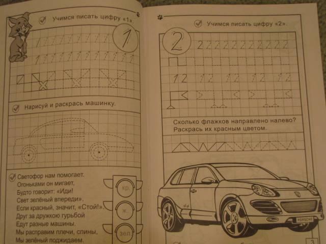 Иллюстрация 1 из 11 для Автопрописи: Цифры - Полярный, Никольская | Лабиринт - книги. Источник: Юляша