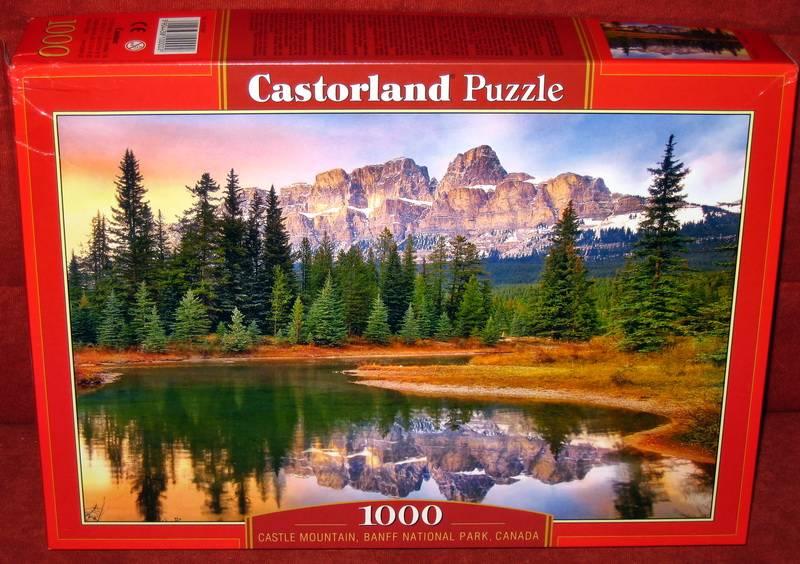 Иллюстрация 1 из 6 для Puzzle-1000. Озеро в горах (С-101597) | Лабиринт - игрушки. Источник: Губяткин  Павел Владимирович