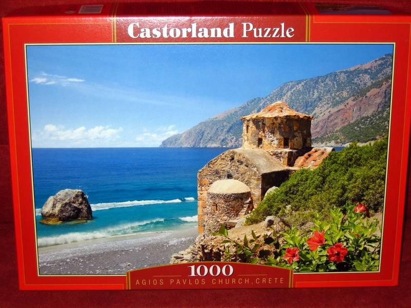 Иллюстрация 1 из 7 для Puzzle-1000. Крит (С-101832) | Лабиринт - игрушки. Источник: Губяткин  Павел Владимирович
