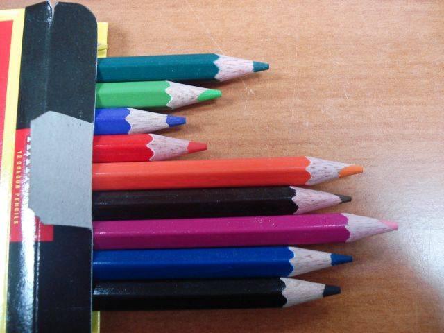Иллюстрация 1 из 2 для Карандаши 12 цветов (01Е99) | Лабиринт - канцтовы. Источник: rizik