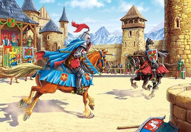Иллюстрация 1 из 6 для Puzzle-500. Королевский турнир (В-51427)   Лабиринт - игрушки. Источник: Губяткин  Павел Владимирович