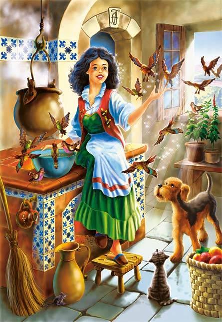 Иллюстрация 1 из 10 для Puzzle-1000. Сказка (С-101818)   Лабиринт - игрушки. Источник: Губяткин  Павел Владимирович