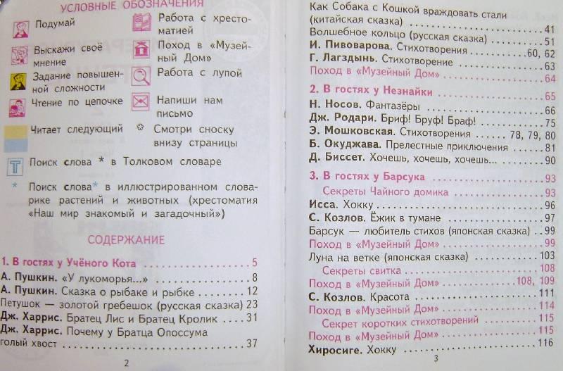 Литературное чтение 3 класс чуракова