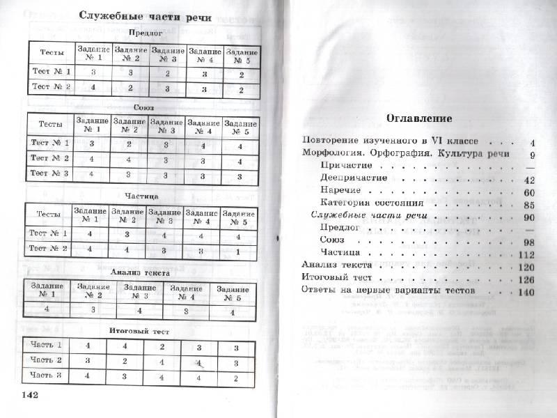 скачать тесты по русскому цыбулько 8 класс