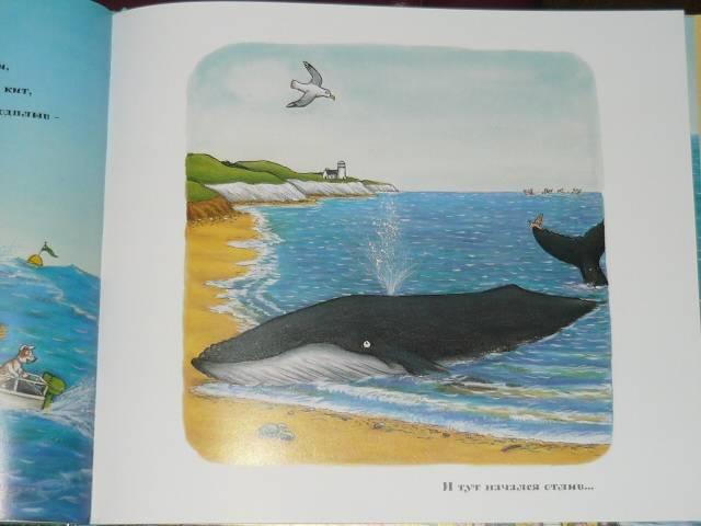 Иллюстрация 65 из 138 для Улитка и Кит - Джулия Дональдсон | Лабиринт - книги. Источник: Ромашка:-)