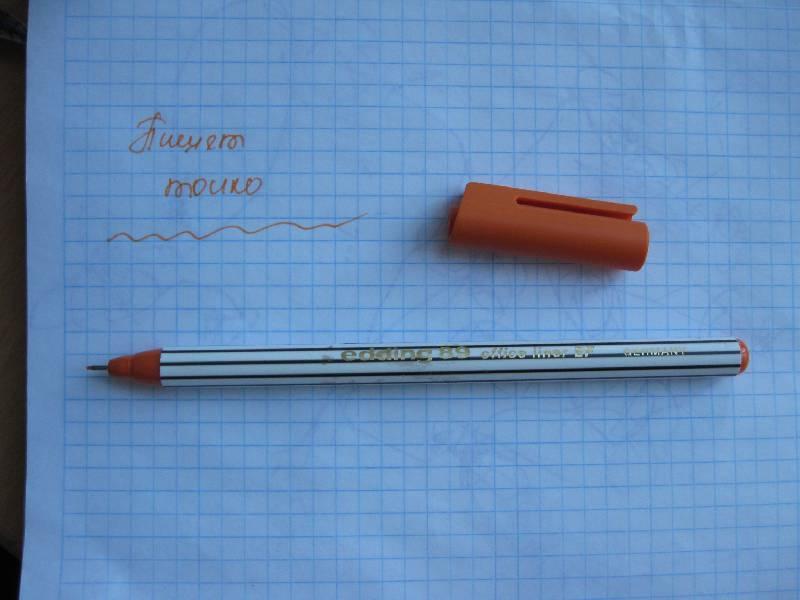 Иллюстрация 1 из 2 для Офислайнер EF 0,3мм оранжевый (89/6) | Лабиринт - канцтовы. Источник: Алёна