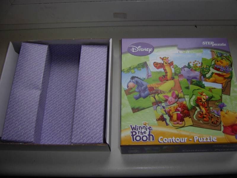 """Иллюстрация 1 из 16 для Contour Puzzle """"Медвежонок Винни"""" (92100)   Лабиринт - игрушки. Источник: Лилианна"""