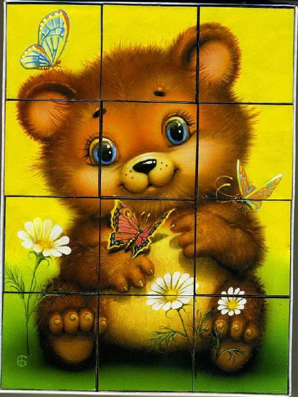 Иллюстрация 1 из 2 для Кубики: Пушистики-1 (00603)   Лабиринт - игрушки. Источник: Machaon