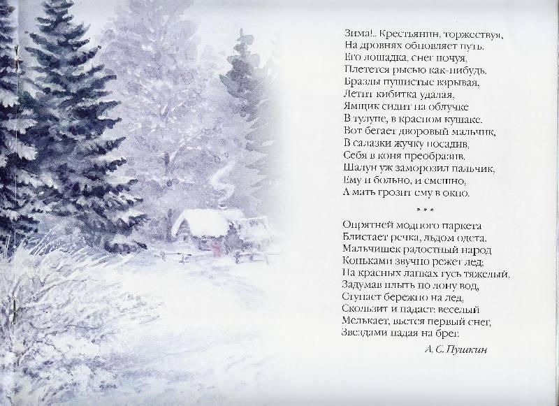 обычное теплое стихотворения пушкина о зиме Купить