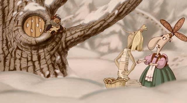Иллюстрация 1 из 38 для Бабка Ежка и другие… (DVD) | Лабиринт - видео. Источник: Флинкс