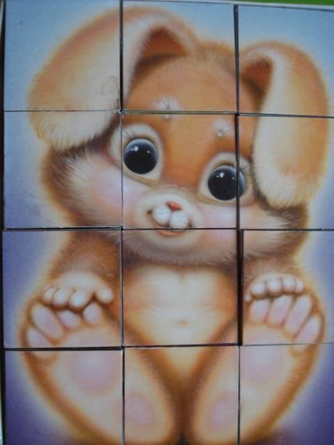 Иллюстрация 1 из 6 для Кубики: Пушистики-2 (00604) | Лабиринт - игрушки. Источник: Юсик