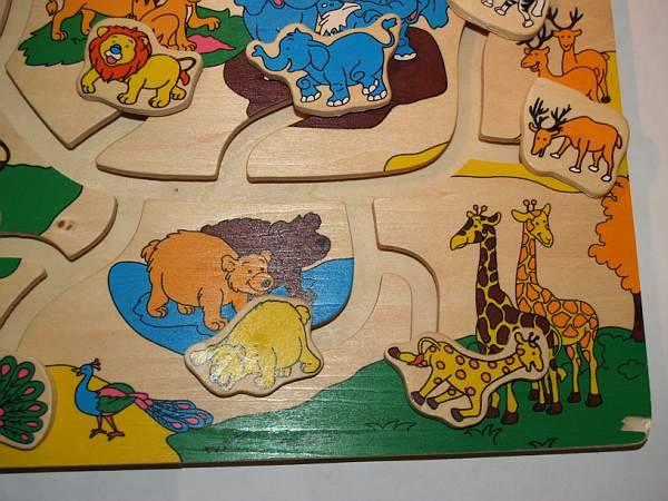Иллюстрация 1 из 11 для Игра 89101 Веселый лабиринт: Зоопарк   Лабиринт - игрушки. Источник: Cовушка