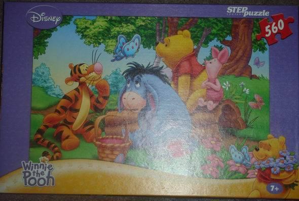 Иллюстрация 1 из 10 для Step Puzzle-560 (97004) Дисней. Винни Пух | Лабиринт - игрушки. Источник: lettrice