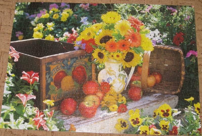 Иллюстрация 1 из 3 для Step Puzzle-2000 Осенний букет (84016) | Лабиринт - игрушки. Источник: Марийка