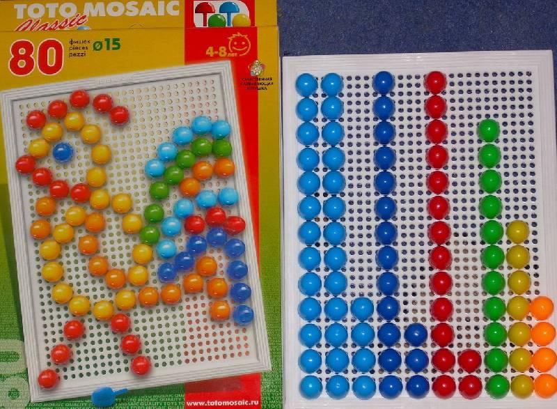 Иллюстрация 1 из 2 для Мозаика 80 элементов | Лабиринт - игрушки. Источник: Качура Светлана Анатольевна