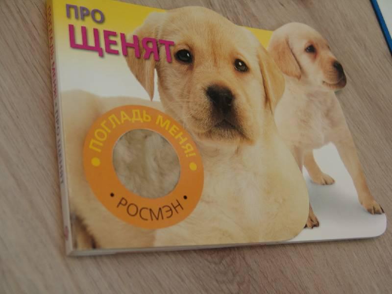 Иллюстрация 1 из 8 для Про щенят (Погладь меня)   Лабиринт - книги. Источник: Лаванда