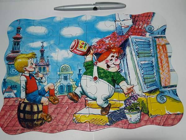 Иллюстрация 1 из 7 для Puzzle-30 MIDI. Карлсон. (В-03018)   Лабиринт - игрушки. Источник: Cовушка