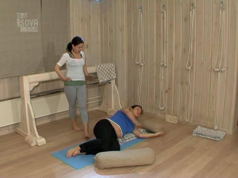 Иллюстрация 1 из 3 для Йога для беременных. III триместр. Готовимся к родам (DVD) - Игорь Пелинский   Лабиринт - видео. Источник: Флинкс