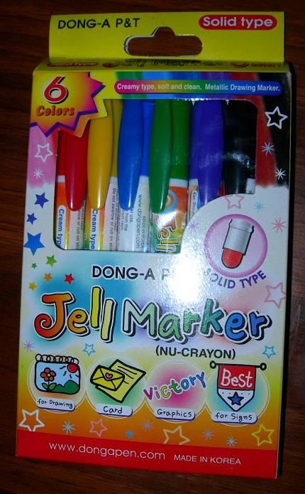 Иллюстрация 1 из 5 для Мелки гелевые 6 цветов Jell Markers (JE100-6) | Лабиринт - игрушки. Источник: Платунов  Александр Андреевич