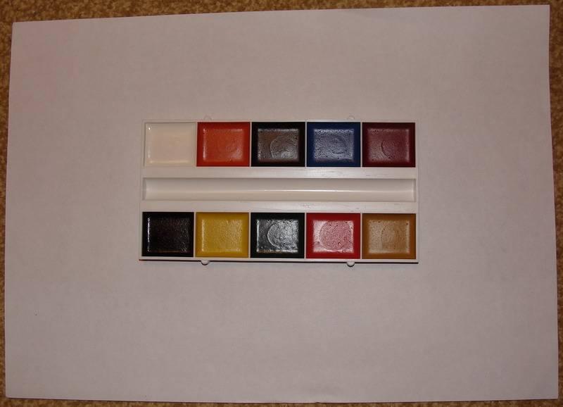 Иллюстрация 1 из 2 для Краски акварель медовые 10 цветов (FA-010-Т) | Лабиринт - канцтовы. Источник: Machaon