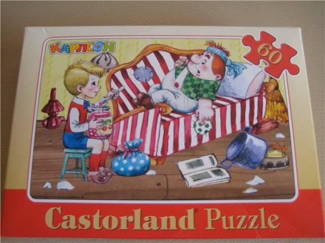 Иллюстрация 1 из 9 для Puzzle-60. MIDI. Карлсон (л) (В-06040)   Лабиринт - игрушки. Источник: Ковальчук Светлана Васильевна