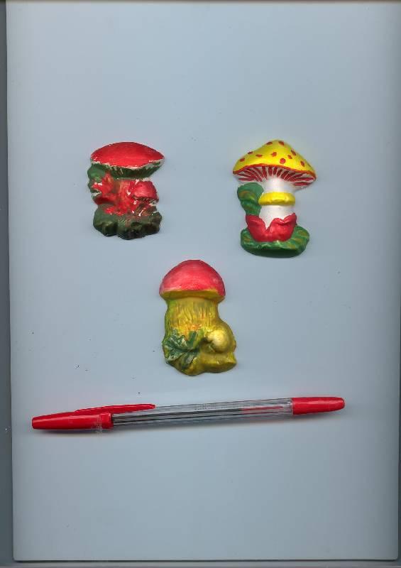Иллюстрация 1 из 12 для Магниты: Грибы | Лабиринт - игрушки. Источник: duduka
