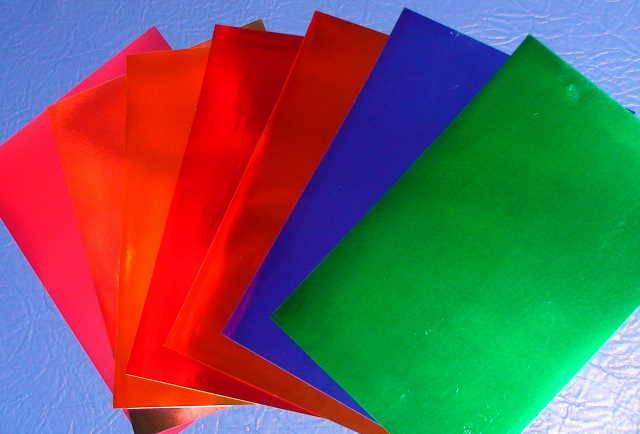 Иллюстрация 1 из 8 для Бумага цветная зеркальная 7 листов А4 (11-407-66 ) | Лабиринт - канцтовы. Источник: _Елена_