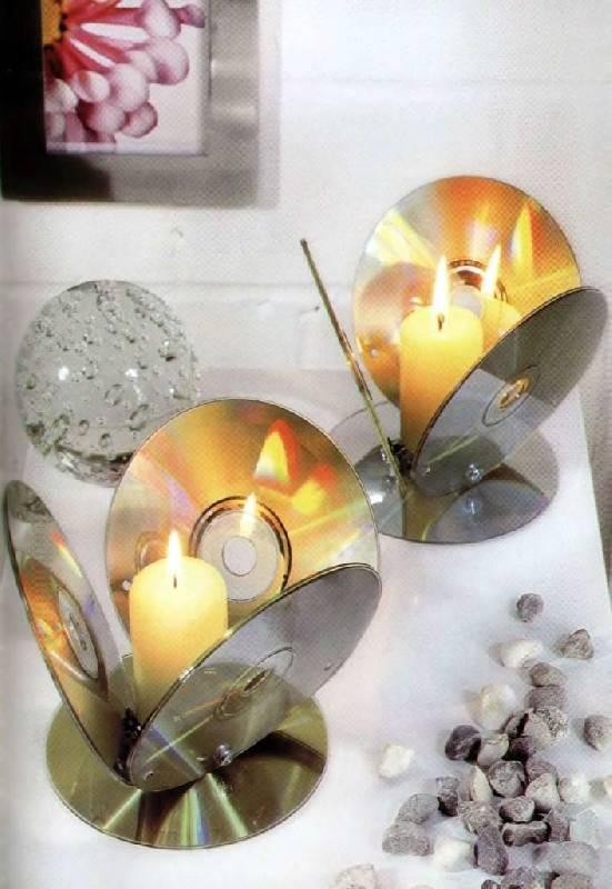 книга оригинальные поделки из ненужных компакт дисков