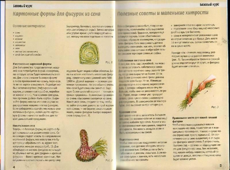 Иллюстрация 1 из 26 для Игрушки из сена. Творческие идеи в стиле кантри - Анне Пипер | Лабиринт - книги. Источник: Юта