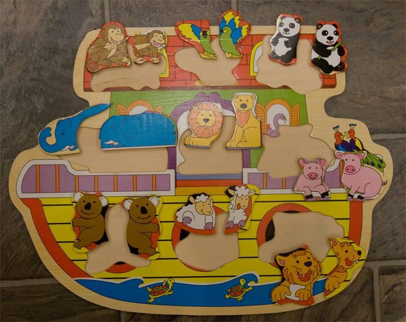 Иллюстрация 1 из 2 для Игра Ноев ковчег (89099) | Лабиринт - игрушки. Источник: NNN