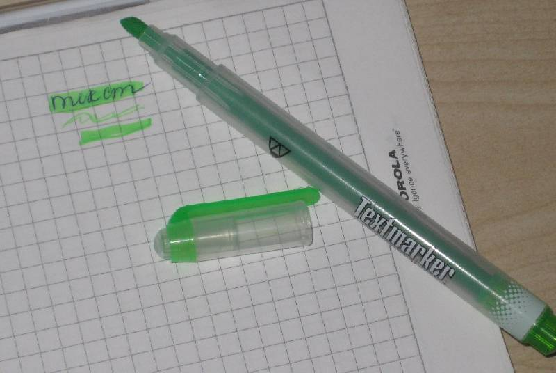 Иллюстрация 1 из 3 для Текстовыделитель Premium (101001-23) зеленый | Лабиринт - канцтовы. Источник: Марийка