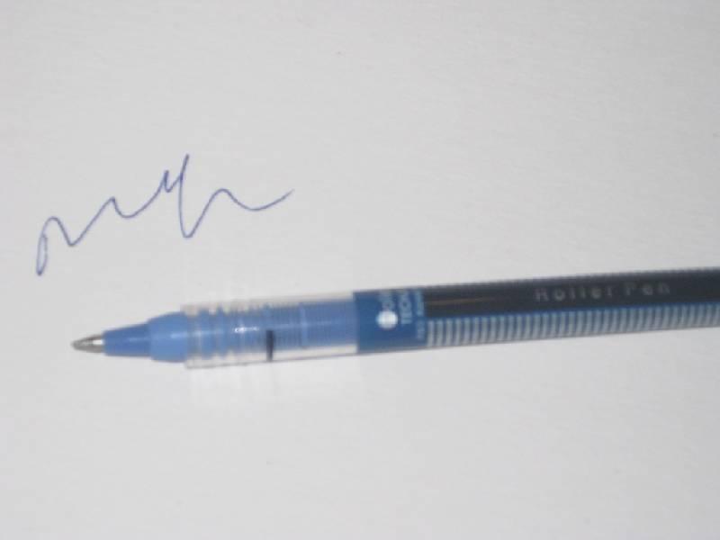 Иллюстрация 1 из 3 для Ручка роллер DIMENSION (синяя) | Лабиринт - канцтовы. Источник: Марийка