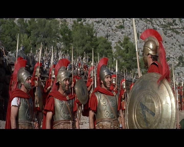 Иллюстрация 1 из 5 для 300 спартанцев (DVD) - Рудольф Мате | Лабиринт - видео. Источник: Ляпина  Ольга Станиславовна