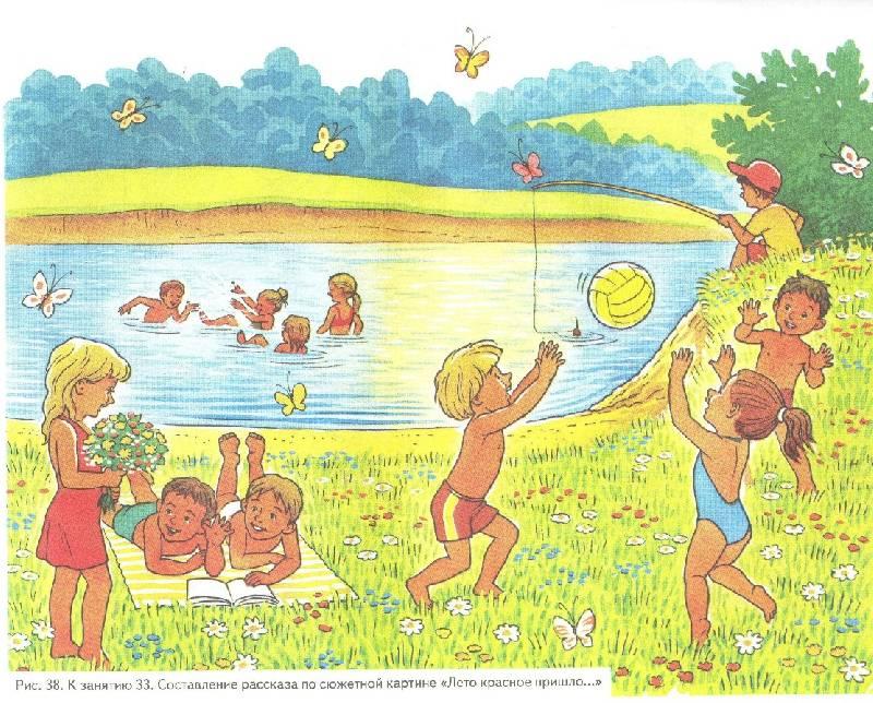 сюжетные картинки для дошкольников по развитию речи
