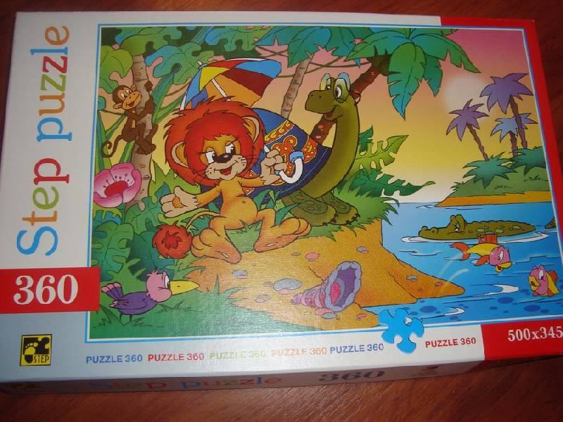 Иллюстрация 1 из 4 для Step Puzzle-360 73006 Львенок и черепаха | Лабиринт - игрушки. Источник: Счастливая мама
