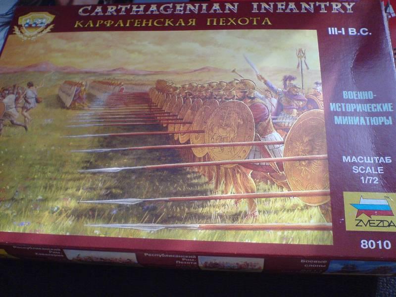 Иллюстрация 1 из 9 для Карфагенская пехота (8010) | Лабиринт - игрушки. Источник: LilyWhite