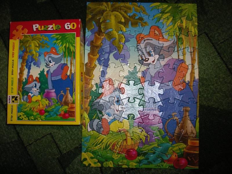 """Иллюстрация 1 из 5 для Step Puzzle-60 """"Крошка Енот"""" (81005)   Лабиринт - игрушки. Источник: Tiger."""