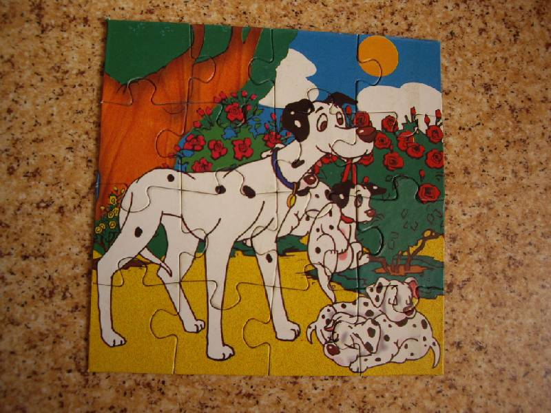 Иллюстрация 1 из 4 для Maxi Puzzle. 16 элементов. Далматинцы (037) | Лабиринт - игрушки. Источник: Майский день