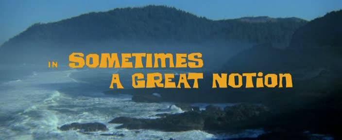 Иллюстрация 1 из 5 для Иногда великая идея (DVD) - Пол Ньюман | Лабиринт - видео. Источник: Флинкс