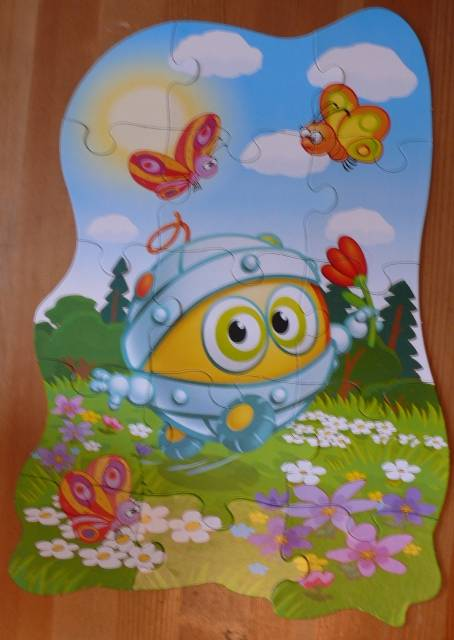 Иллюстрация 1 из 2 для Maxi Puzzle. Смешарики. БиБи   Лабиринт - игрушки. Источник: personok