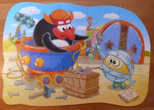 Иллюстрация 1 из 2 для Maxi Puzzle. Смешарики. Пин и Биби | Лабиринт - игрушки. Источник: personok