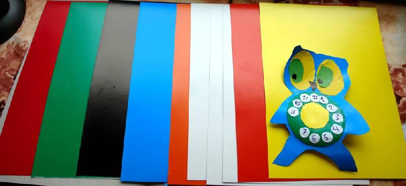 Иллюстрация 1 из 9 для Набор цветного картона 10 листов (FKIN-7410-K) | Лабиринт - канцтовы. Источник: Flora