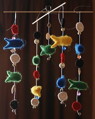 Иллюстрация 1 из 6 для Валялка Мобиле Рыбки (Фг004) | Лабиринт - игрушки. Источник: www.ju