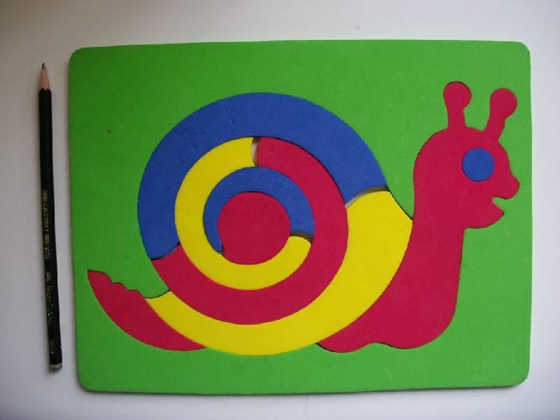 Иллюстрация 1 из 4 для Мозаика. Улитка (063551У) | Лабиринт - игрушки. Источник: Tiger.